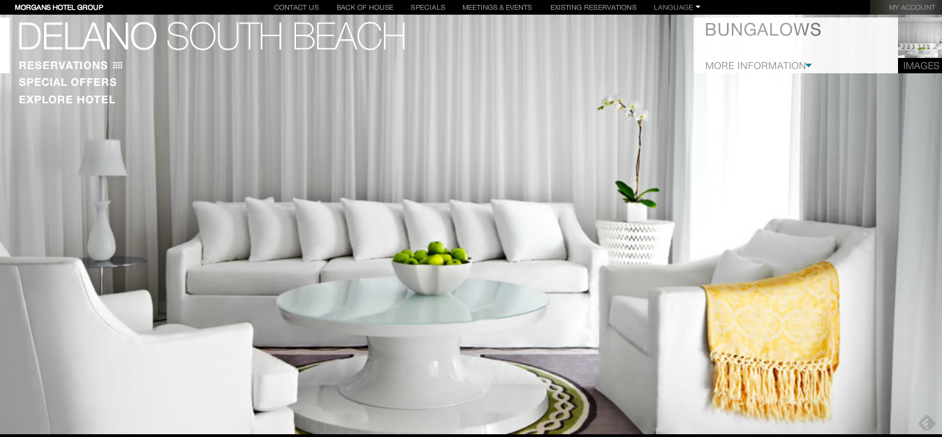 South Beach Hotels  One of the Best Miami Hotels   Delano Hotel Miami