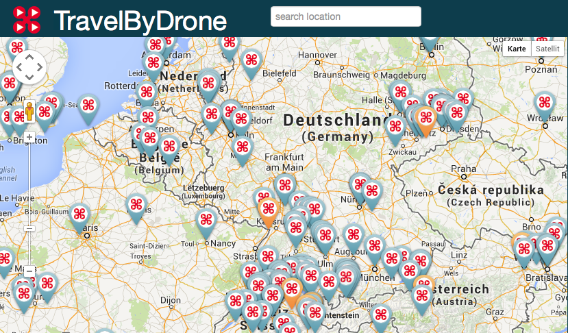 Travelbydrone